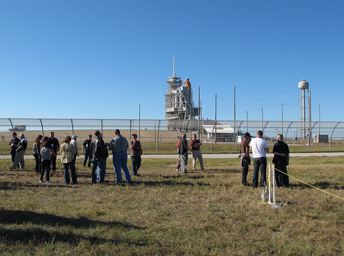 NASA Tweetup At Kennedy Space Center For Launch of Space Shuttle