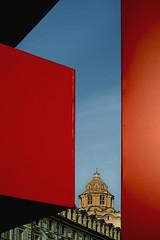 Torino N1 (Iskald) Tags: red italy church square logo torino plastic chiesa sanlorenzo rosso piazzacastello tff torinofilmfestival guarinoguarini