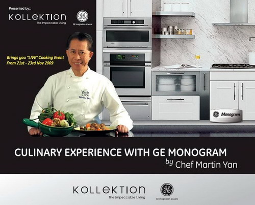 Culinary Experience with GE Monogram by Chef Martin Yan
