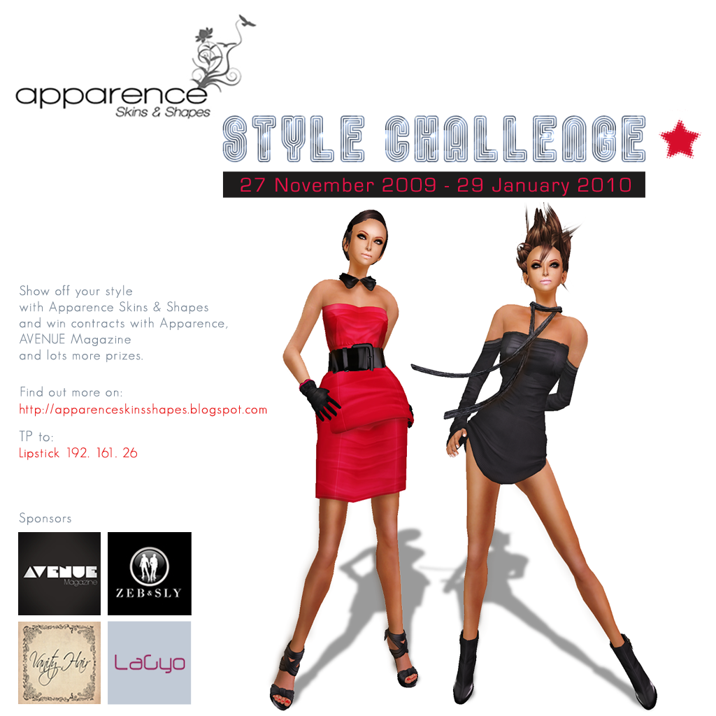 Apparence Style Challenge 1024 X 1024