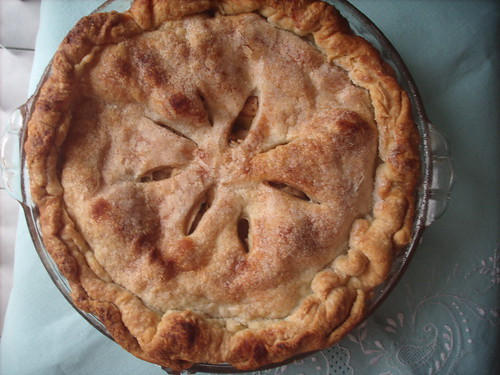 apple pie taken to martha show