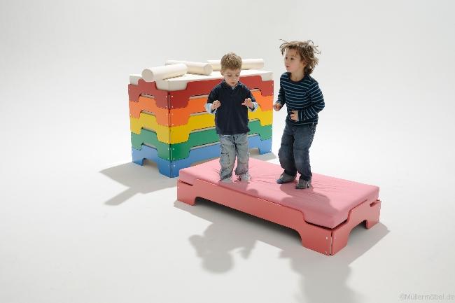 Las camas infantiles apilables est n en coolkids - Vtv mobiliario infantil catalogo ...
