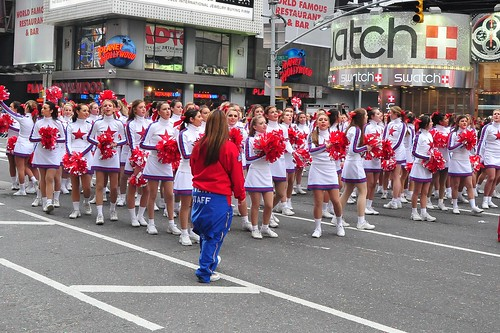 Thanksgiving Day Parade  -  Times Square,  NYC  -  2009 by asterix611