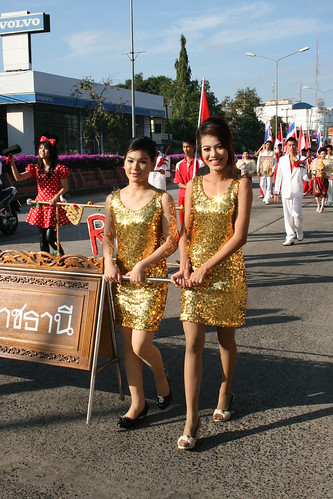 Thai Girls in Gold