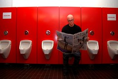 Week 3/52 (Just a guy who likes to take pictures) Tags: red two portrait news man color colour male rot me dutch self paper lesen de photography reading glasses newspaper media funny university fotografie photographie c colorphotography bald toilet toilette moi read wc week universität weeks portret rood ich urinals fh fachhochschule ik bril 52 zelf zeitung ism fifty tinto kaal kleur krant nieuws weken volkskrant urinoir woche mij glatze lezen colourphotography wochen 52weeks i 52pics project52 photoperweek kleurenfotografie oneperweek 52weken 52woche pictureperweek