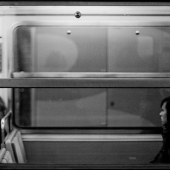 (c2prods) Tags: street people white black paris france underground subway photography noir mtro shapes silhouettes et blanc gens formes c2prods