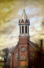 Refuge in Winter (twbphotos) Tags: church clouds washington cloudy catholicchurch hdr sprague terrybell anawesomeshot twbphotos