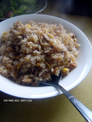 Stir fried rice 340 (11) Tags: mushroom rice chinesefood egg homemade  day340       340365