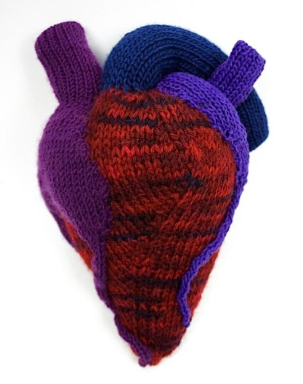ben cuevas knitted heart