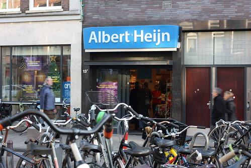 Albert Heijn e bicicletas = Holanda