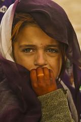 [フリー画像] [人物写真] [子供ポートレイト] [外国の子供] [少女/女の子] [アフガニスタン人] [スカーフ]     [フリー素材]
