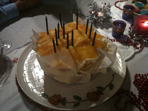 Mangomisu birthday cake