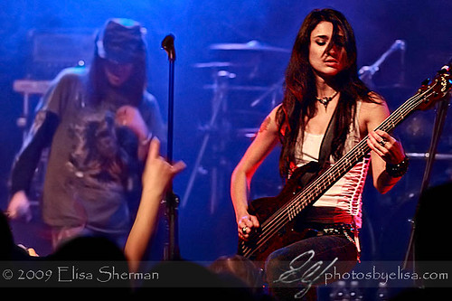 performing with Warrel Dane by Elisa Sherman | photosbyelisa.com