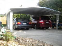 SteelMaster Metal Two-Car Carport