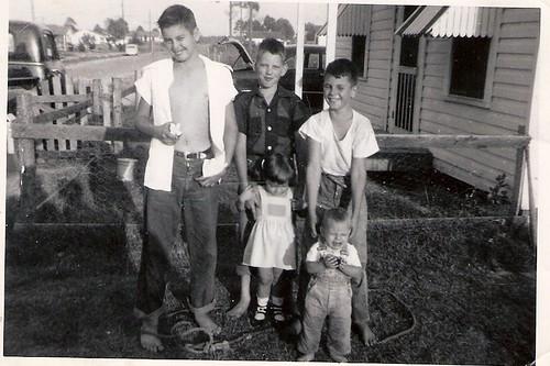 Daddy, Leroy, Carnie, Diane & Bob