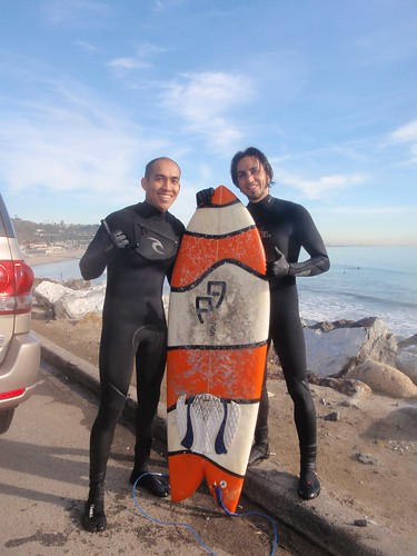 Jay and Sunny (9:Fish Surfboards Co-Owner)