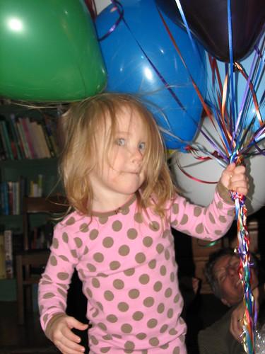mmmm...MY balloons??