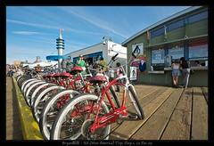 Bikes for rent @ Santa Monica, LA ( Bryan aka Numnumball ~**) Tags: trip usa holiday la los nikon angle angeles wide 2470mmf28 1735mmf28 afs1735mmf28 d700 sb900 borderfx mbd10 afs2470mmf28