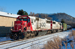 They're baaaack..... SOO 6024 and SOO 6027. Lake City, MN (Ottergoose) Tags: railroad snow train trains sooline freighttrain redwing sd60 redwingmn ethanoltrain soo6024 emdsd60 cpriversub soo6027 cp667