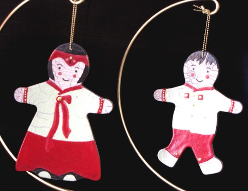 Hanbok ornaments