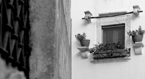grate finestra sud apulia contrasti inferriate... (Photo: LucatraversA on Flickr)