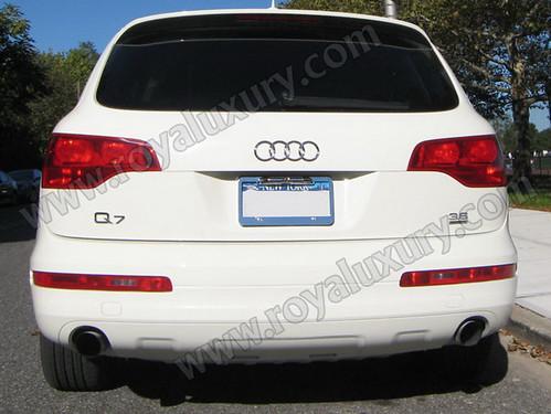 Audi Q7 Limo Interior. Audi Q7 Limousine