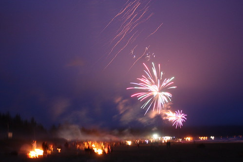 Crescent City Beach Fireworks
