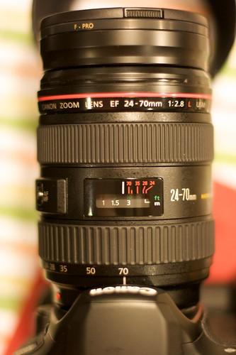 Canon f/2.8 L 24-70mm