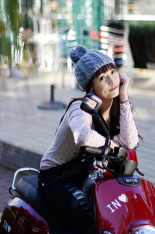 FA 50mmF1.4鏡頭下的美少女-夏依