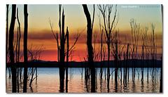 November Rain ([ Kane ]) Tags: sunset lake water clouds island photography fishing dusk dam australia qld queensland kane gladstone wispy deadtrees gledhill sigma1020 50d awoonga kanegledhill wwwhumanhabitscomau awoongalake awoongalakeqld kanegledhillphotography