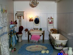 A small bathroom (magellano) Tags: portugal bathroom casa doll teresa bagno odemira bambole portogallo huose