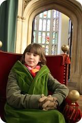 Hampton Court Palace, her highness