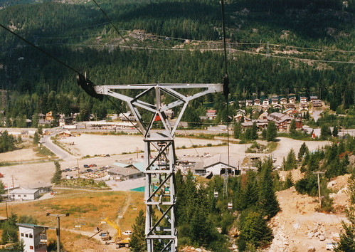 Whistler - chair lift