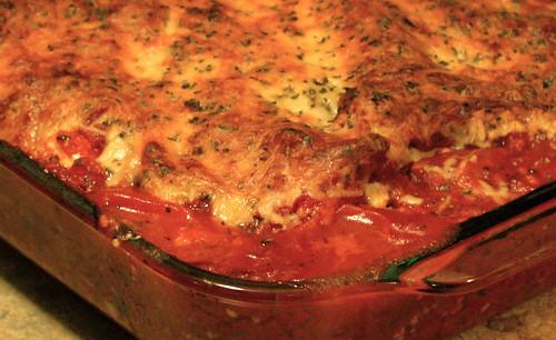 yum yum yum tomatoes and cheese YUM.