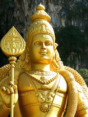 statue2 (astroboy_71) Tags: travel holiday color colour colors yellow statue gold golden colorful asia seasia colours tourist malaysia kualalumpur kl batu batucaves southeastasiaimages