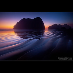 Southern Oregon Coast (Jesse Estes) Tags: reflection beach coast sand southernoregon wwwjesseestescom jesseestesphotography