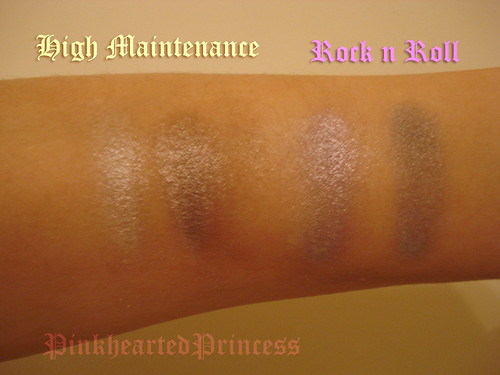 Hard Candy Kaleyedescope swatches no flash