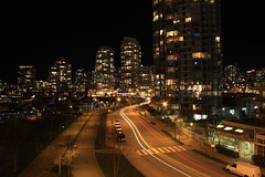 (T Power) Tags: longexposure canada tag3 taggedout vancouver tag2 tag1 nightshot yaletown f80 30seconds pacificboulevard