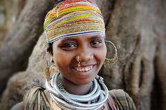 Bonda Girl (Leonid Plotkin) Tags: woman india girl asia tribal tribe orissa bonda mundiguda