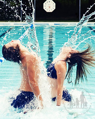 Splash (rdavidphoto) Tags: summer portrait motion sports water pool swim interesting jump nikon explore splash intheair stopaction boysandgirls frozenintime explored frozenaction d700