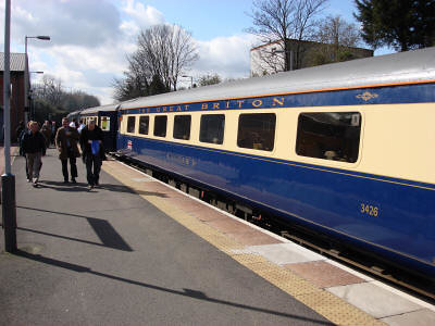 First Class Intercity train for charter or hire (UK)