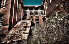 Larundel Mental Asylum Yard (AdamSelwood) Tags: march victoria hdr melboune 2010 bundoora urbanexplorer larundelmentalasylum