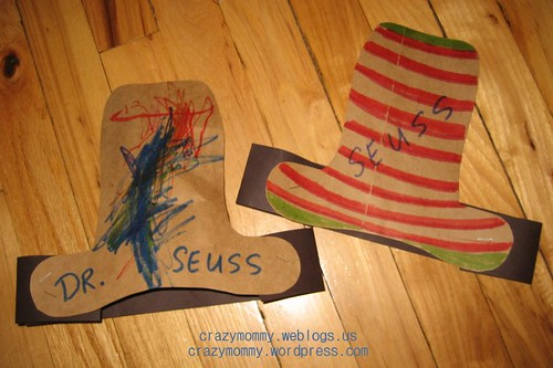 Dr. Seuss - The Cat in the Hat craft