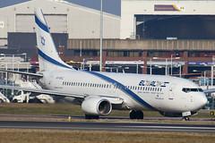 4X-EKC - 29959 - El Al Israel Airlines - Boeing 737-858 - Luton - 100305 - Steven Gray - IMG_7853