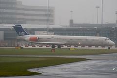 SE-DIS - 53006 - Scandinavian Airlines SAS - McDonnell Douglas MD-82 (DC-9-82) - Manchester - 081126 - Steven Gray - IMG_2576
