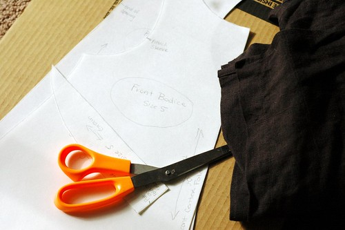 Blouse Progress - Patternmaking