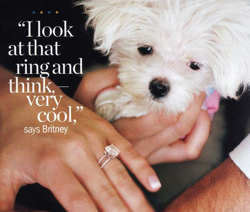 Britney wedding ring