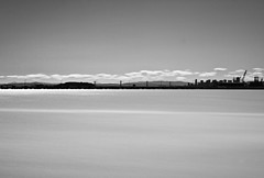 Residue (cah_1) Tags: sanfrancisco longexposure blackandwhite spring bluesky refinery puffyclouds canonef50mmf14usm ndfilter slowwater neutraldensity richmondca canoneos50d itscalifornia