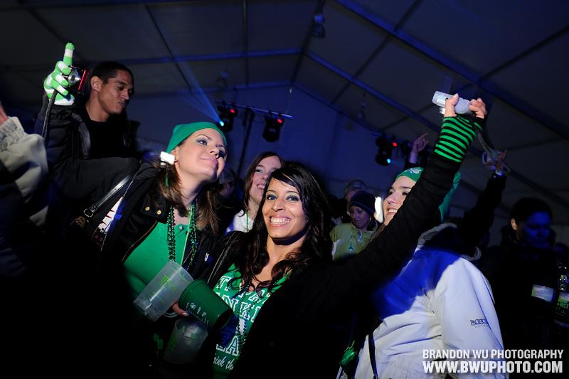 VIP DJ Tent @ Shamrock Fest 2010