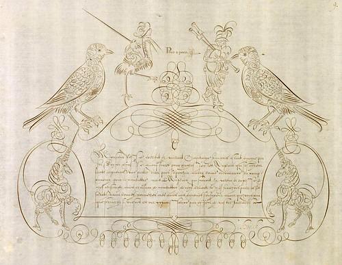 026-Schreibmeisterbuch für Herzog Wolfgang Wilhelm von Pfalz-Neuburg (1600s)